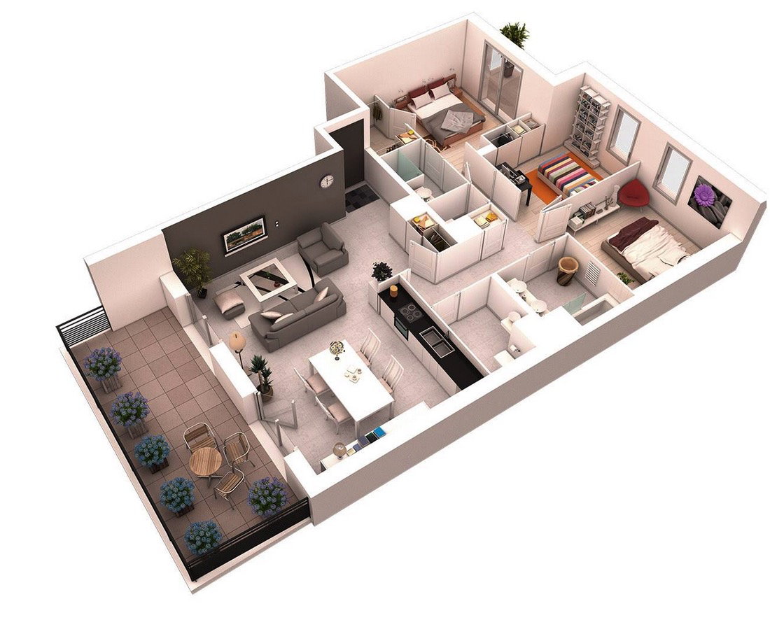 mod-3-bedroom